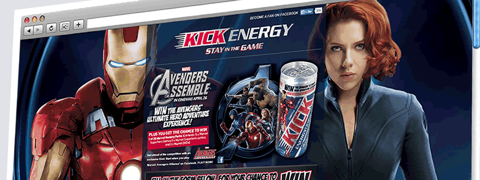 Kick Energy | Web Design Sheffield