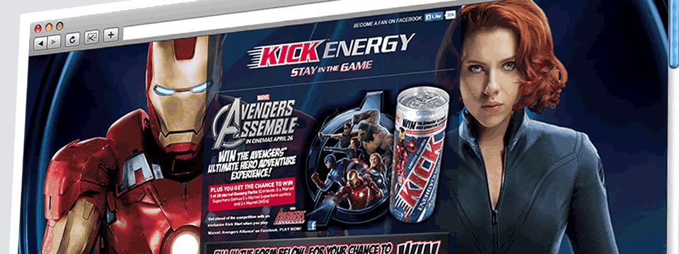 Kick Energy | Web Design Sheffield