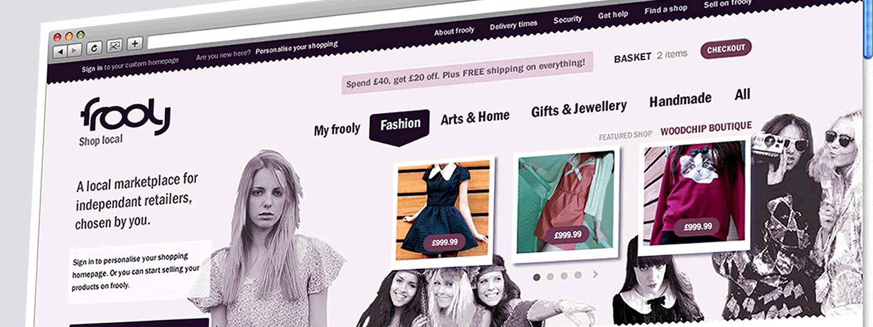 Frooly | Web Design Sheffield