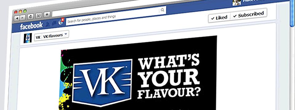 VK Flavours | Web Design Sheffield